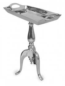 Aluminium Polished Table 22.5 Model A-6612B