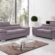 Amando Fabric 3 Seater Sofa