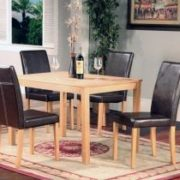 Ashdale Dining Set Ash Veneer 4 Chairs