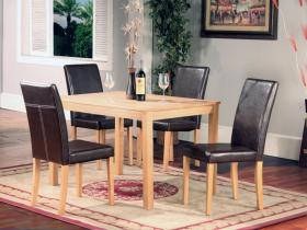 Ashdale Dining Set Ash Veneer 4 Chairs
