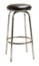 Bar Stool Chrome Swivel No Back BM-010P
