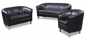 Claridon 3 Seater Sofa PU