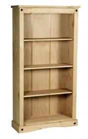 Corona Bookcase Medium with 3 Shelves