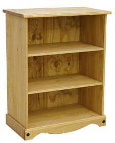 Corona Bookcase Small with 2 Shelves
