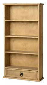 Corona DVD Unit with 1 Drawer & 4 Shelves