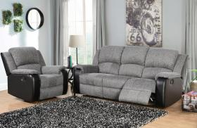 Earlsden Recliner Fabric and PU 1 Seater