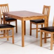 Hyde Solid Oak Dining Chairs