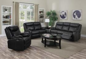 Leeds Recliner LeatherLux & PU 2 Seater