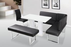 Liberty PU Chair Chrome