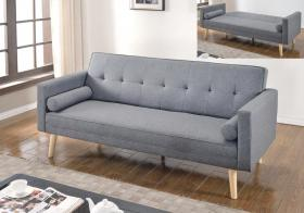Paris Linen Sofa Bed Light Grey