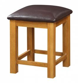 Acorn Solid Oak Dressing Table Stool