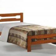 Amelia Solid Wood Single Bed