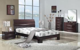 Arden Cherry High Gloss Bedside
