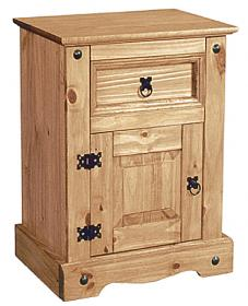 Corona Nightstand 1 Door&1Draw