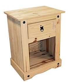 Corona Nightstand 1Draw