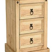 Corona Nightstand 3 Draws