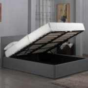 Fusion Fabric Storage 4 Foot Bed Grey