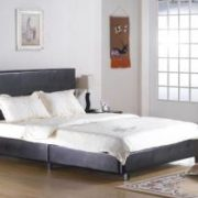 Fusion PU 4 Foot Bed Black, Brown, White . Bed in a Box