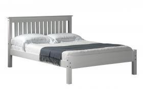 Manila LFE Pine Bed 4 Foot White