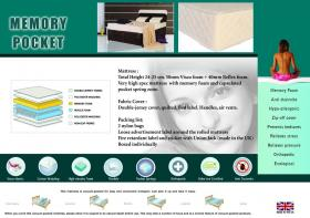 Memory Pocket Mattress Single