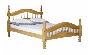 Padova Pine Bed 4 Foot