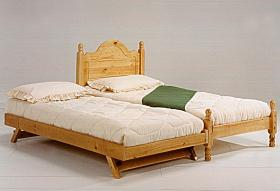 Roma Twin Guest Bed Pine