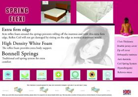 Spring Flexi Mattress 4 Foot