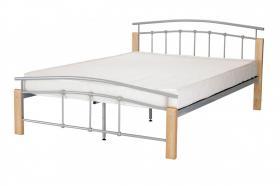 Tetras 4 Foot Bed Silver & Beech