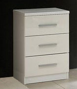 Topline Bedside 3 Drawer